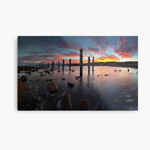 Myponga Beach Sunrise Metal Print