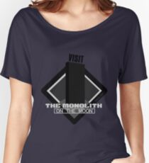 The Moon Monolith Women's Relaxed Fit T-Shirt