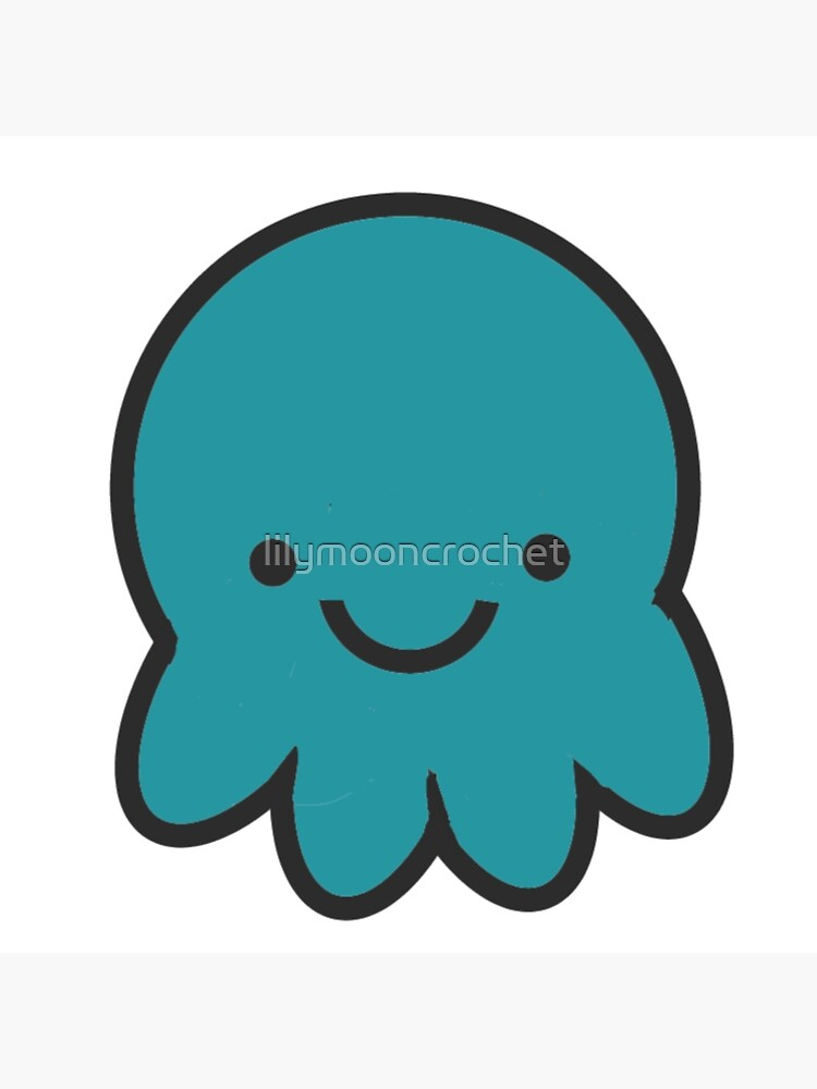 Teal Octopus by lilymooncrochet
