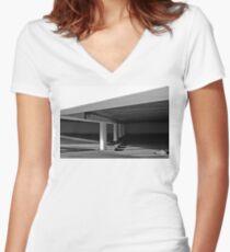 Garage Women's Fitted V-Neck T-Shirt