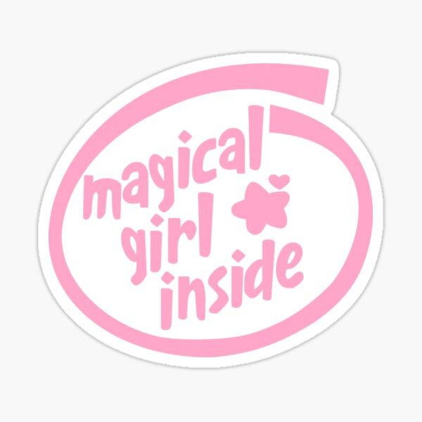 Magical Girl Inside Sticker