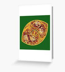 Redskin Football Greeting Card
