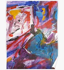 Joie de Virve Abstract Poster