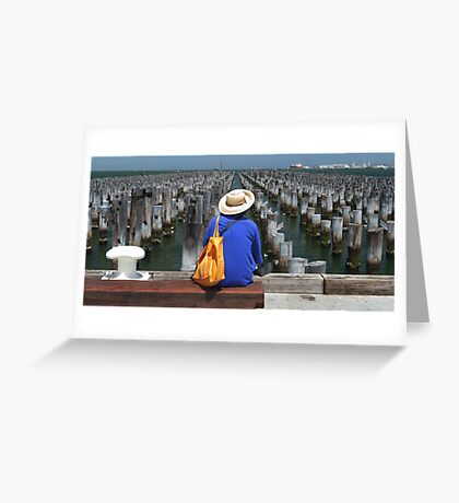 Pier Pressure Greeting Card