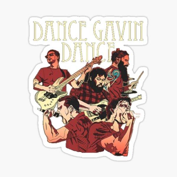 Dance Gavin Dance Graphic Design  Sticker