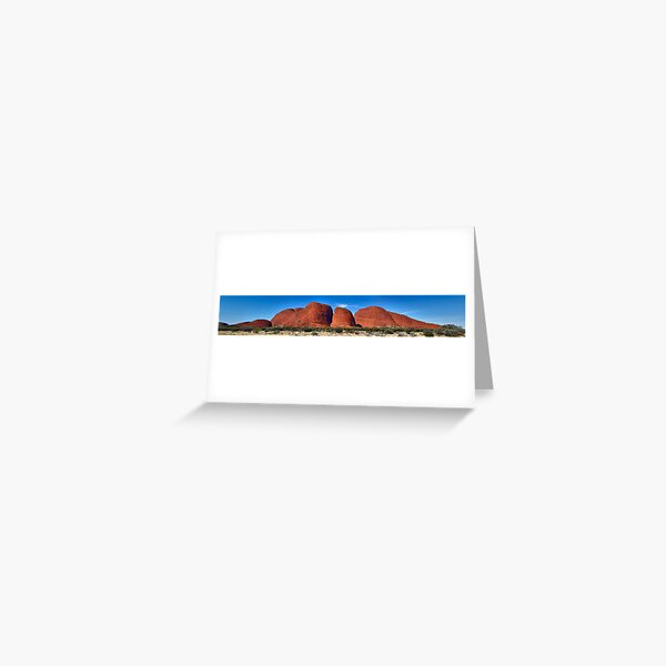 ''Kata Tjuta / Mount Olga.'' Greeting Card