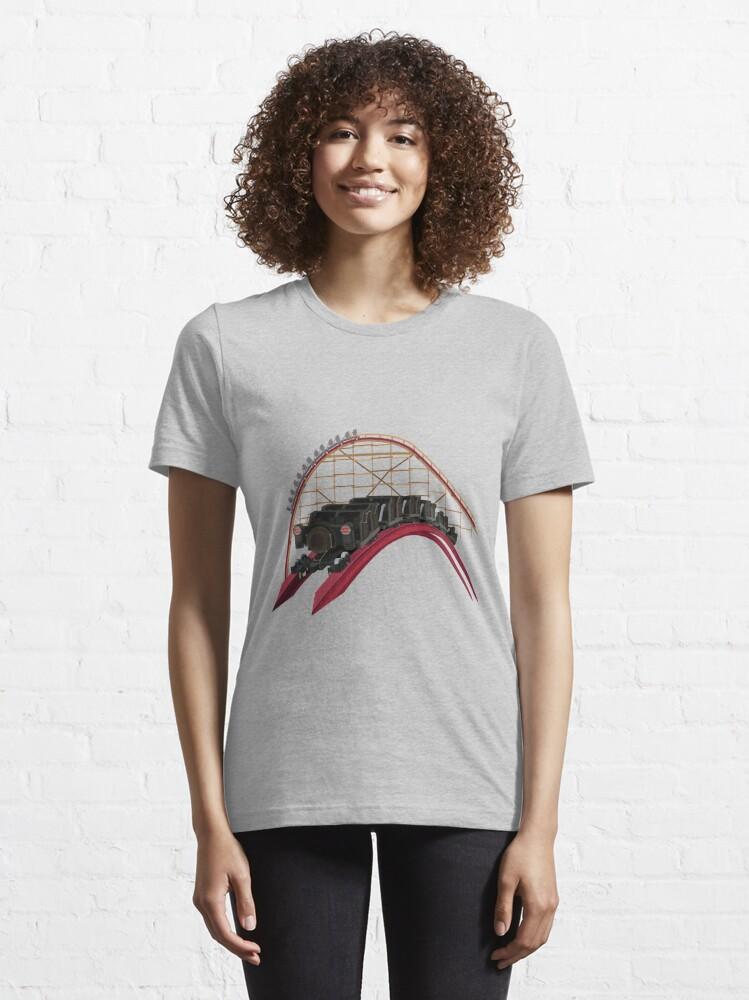 Alternate view of Steel Vengeance Airtime Design Essential T-Shirt
