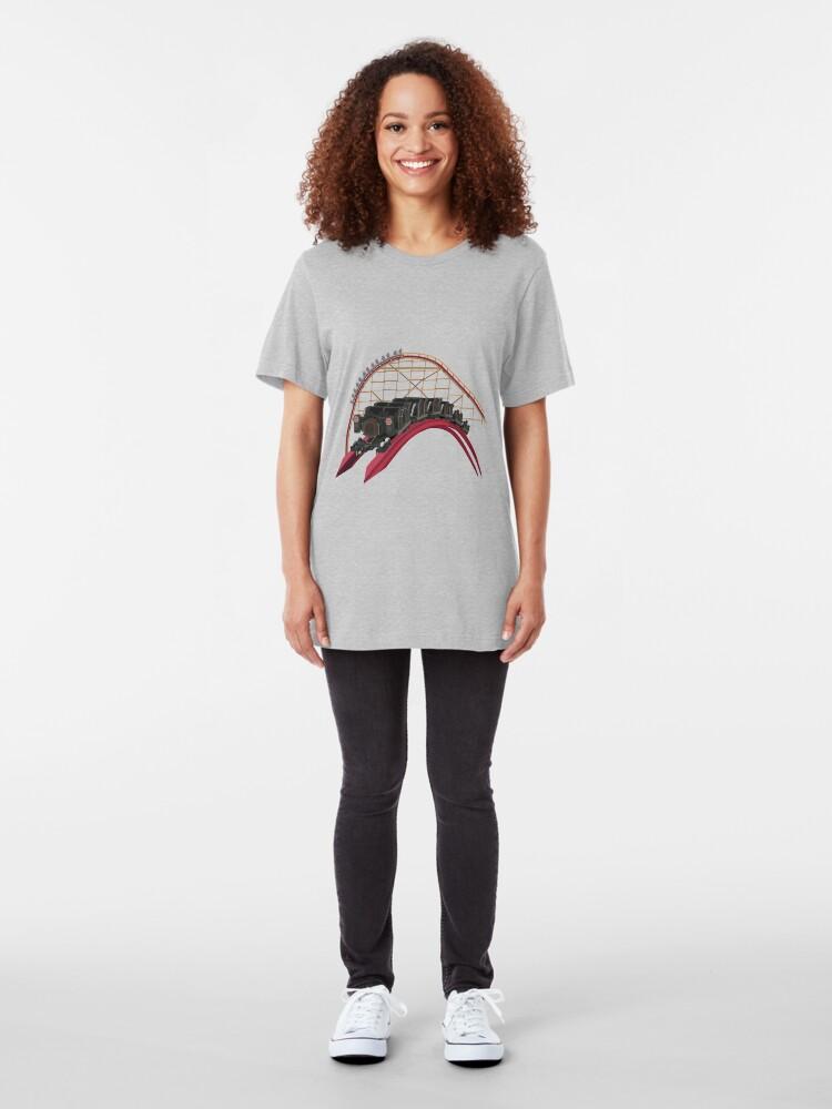 Alternate view of Steel Vengeance Airtime Design Slim Fit T-Shirt