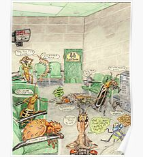 Prisoner's Waiting Room, Bugs Gone Bad Poster
