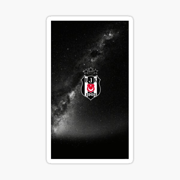 Besiktas Space Sticker