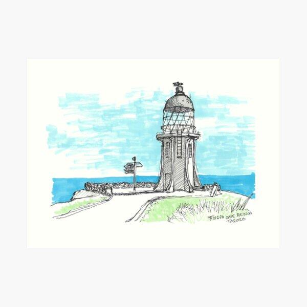 Tour Aotearoa 2020 - Cape Reinga Art Print