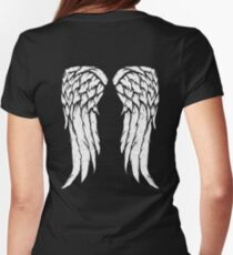 Daryl Dixon Wings - Zombie Womens Fitted T-Shirt