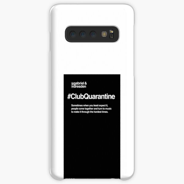 Gabriel & Dresden #ClubQuarantine Merch is here! Samsung Galaxy Snap Case