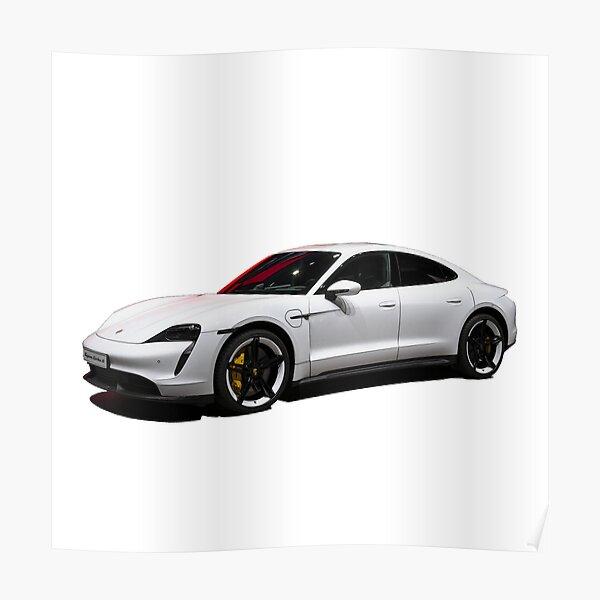 Porsche Taycan Poster