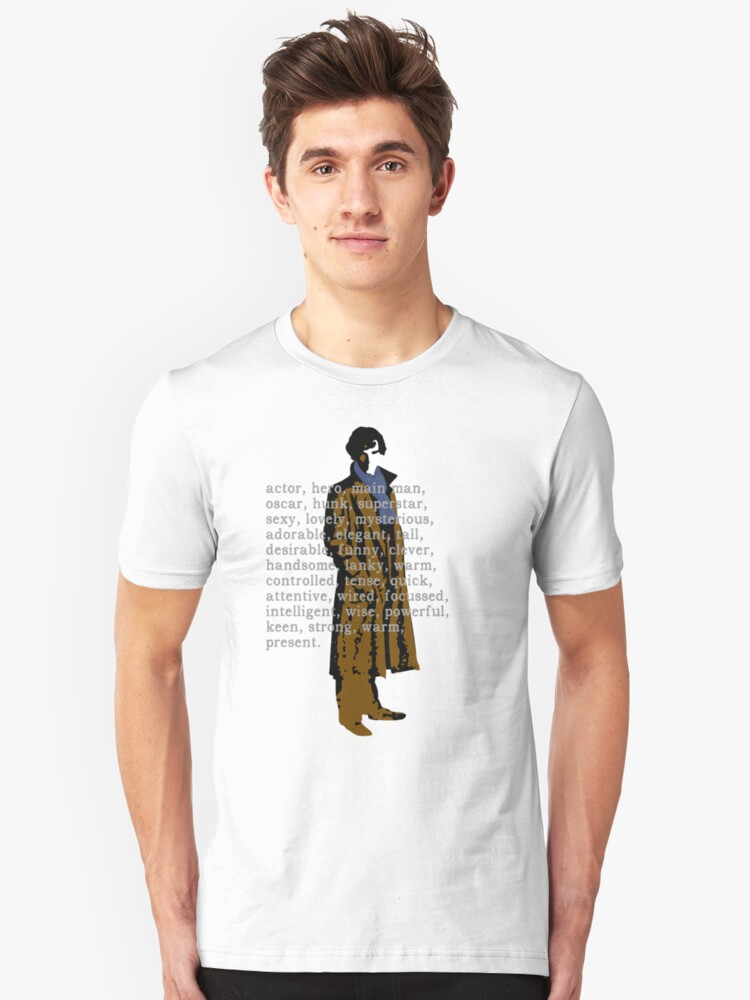 Who is the hottest? Unisex T-Shirt Front