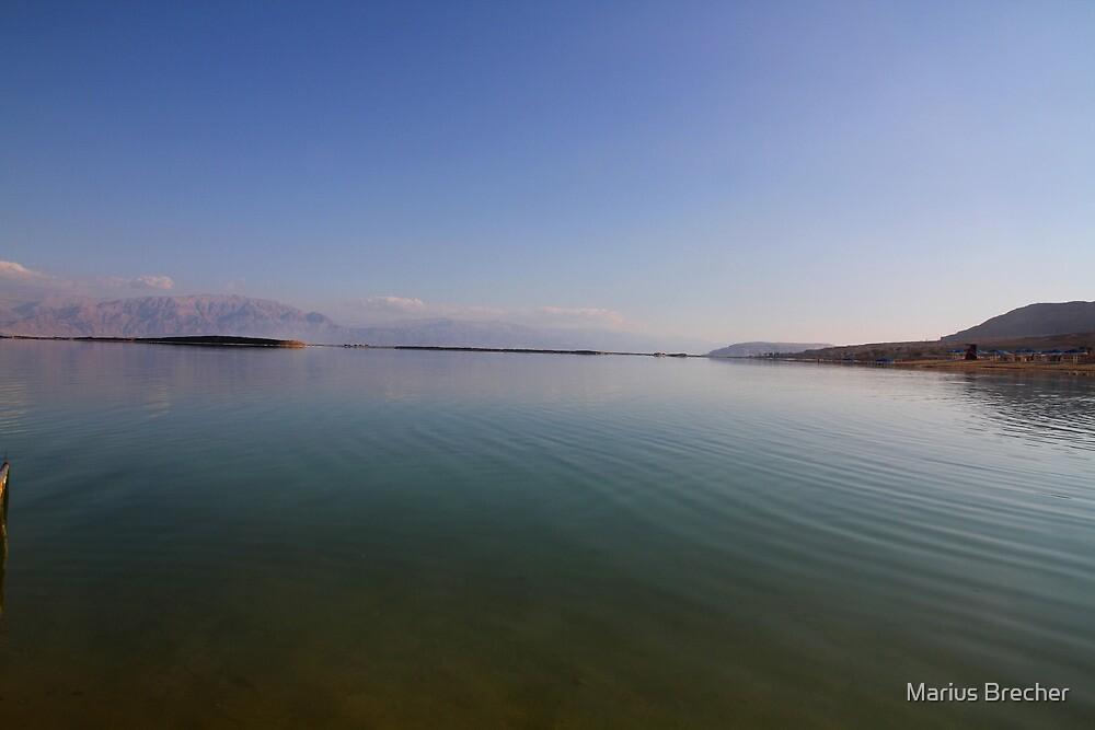 Dead Calm at the Dead Sea by Marius Brecher