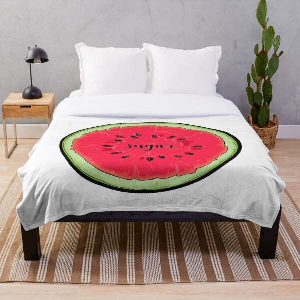 Watermelon Sugar Circle Throw Blanket