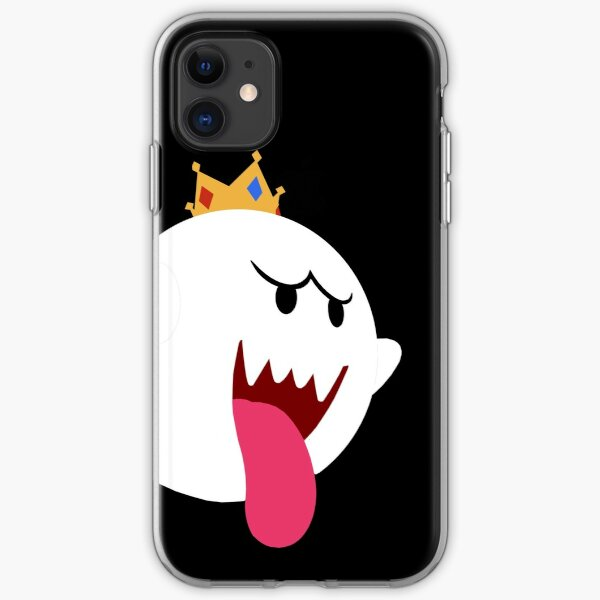 King Boo! Simplistic Design iPhone Soft Case