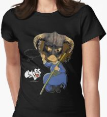 FUS RO D'OH! Womens Fitted T-Shirt