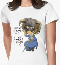 FUS RO D'OH! Women's Fitted T-Shirt