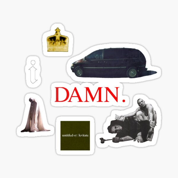 kendrick lamar pack 2 Sticker