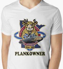 SSN-783 USS Minnesota Plank Owner Crest T-Shirt