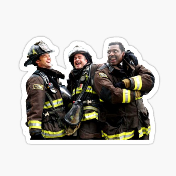 Chicago Fire Sticker