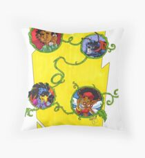 KINFfolkes-GRAPEVINE Throw Pillow