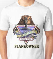 SSN-781 USS California Plank Owner Crest T-Shirt