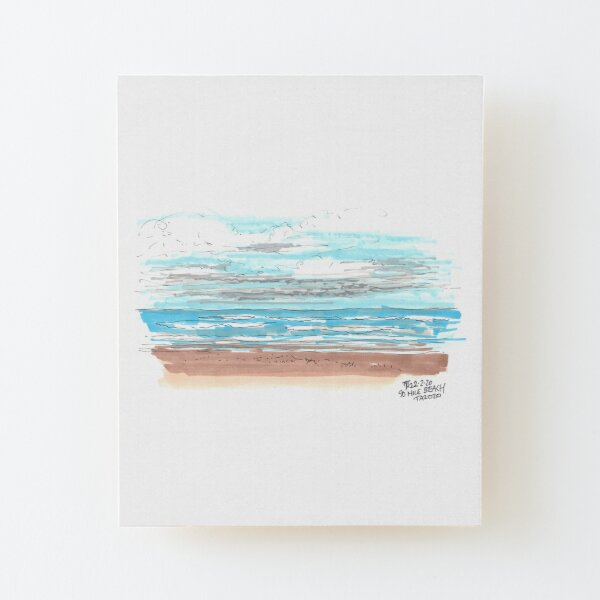 Tour Aotearoa 2020 - 90 Mile Beach Wood Mounted Print
