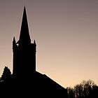 Sunset at the Church by dgscotland