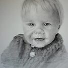 Child Portrait by Lynn Hughes