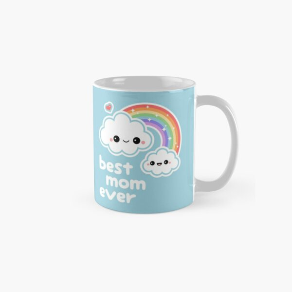 Cute Best Cloud Mom Classic Mug