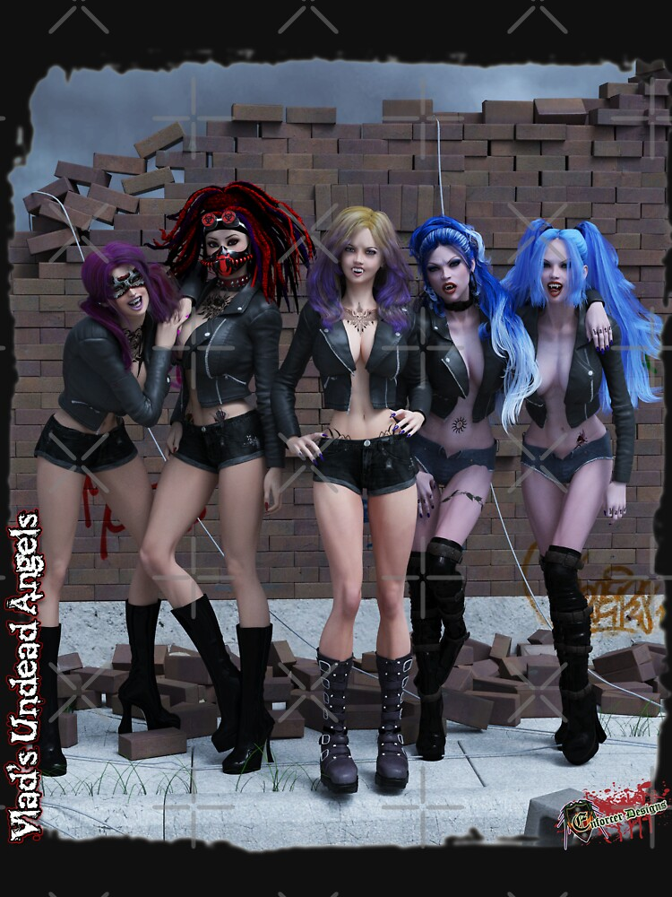 Undead Angels Band Group Photo 2 by EnforcerDesigns