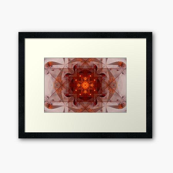 Hell portal Framed Art Print
