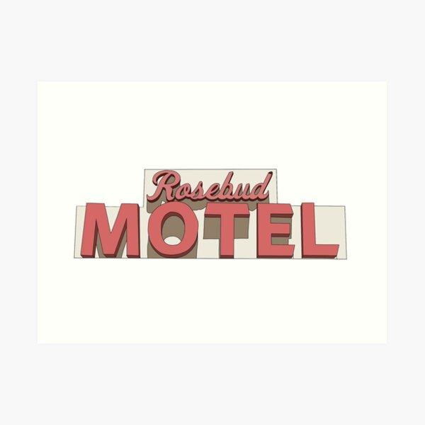 Rosebud Motel - Schitt's Creek Art Print