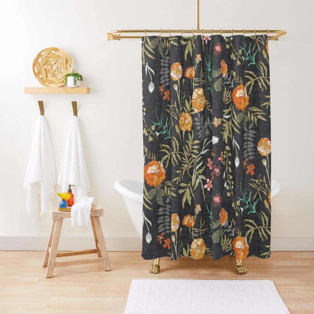 Marigold Love  Shower Curtain