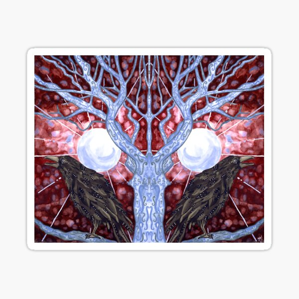 The Mirror Tree Sticker