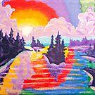 80's Sundown by Morgan Ralston