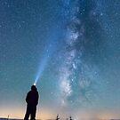 Stargazing - Great Smoky Mountains National Park, North Carolina by Jason Heritage