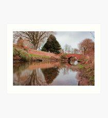 The Bridge, Fordwich Art Print