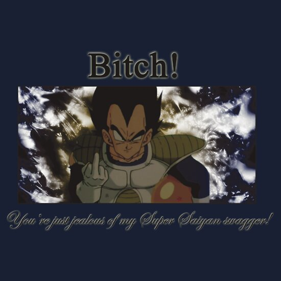 TShirtGifter presents: Super Saiyan Swagger shirt
