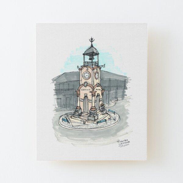 Tour Aotearoa 2020 - Hokitika Clocktower Wood Mounted Print
