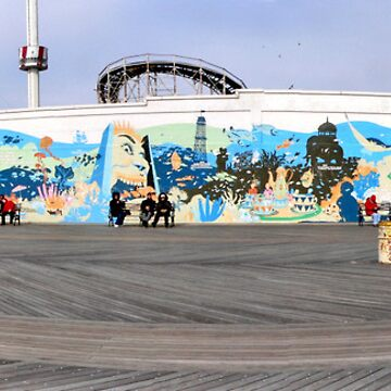 coney island pano1 by andytechie