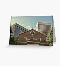 From South Main Street - Downtown Providence Greeting Card