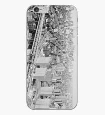 Vinilo o funda para iPhone Manhattan Black and White Photograph