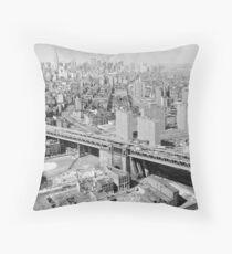 Cojín Manhattan Black and White Photograph