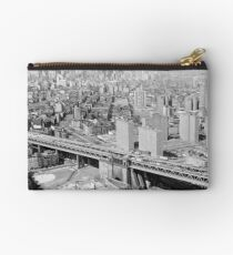 Bolso de mano Manhattan Black and White Photograph