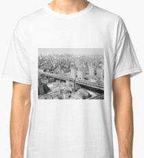 Camiseta clásica Manhattan Black and White Photograph
