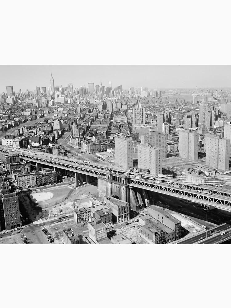 Manhattan Black and White Photograph de BravuraMedia